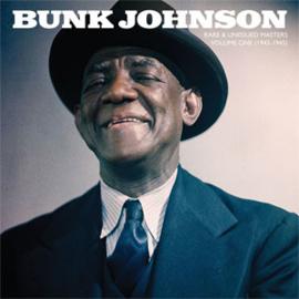 Bunk Johnson Rare & Unissued Masters: Vol. 1 1943-45 2LP (Transparent Blue Vinyl)
