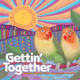 Gettin' Together: Groovy Sounds from the Summer of Love Various Artists LP - Red Vinyl-