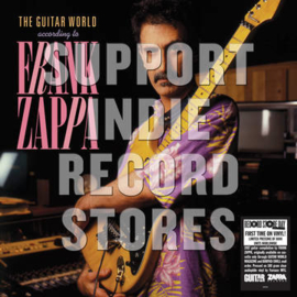 FRANK ZAPPA THE GUITAR WORLD ACCORDING TO FRANK ZAPPA  2LP