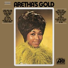 Aretha Franklin Aretha Gold LP - Gold Vinyl-