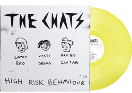 The Chats High Risk Behaviour LP - Yellow Vinyl-