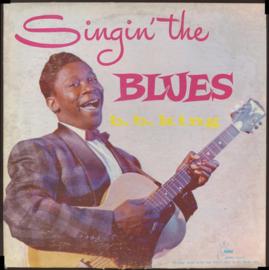 B.B. King Singin' The Blues LP