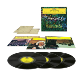 "Tchaikosvky Symphonies No. 4, 5 & 6 ""Pathetique"" Hand-Numbered, Limited Edition 180g 3LP Box Set"