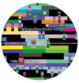 De Staat 0,0  Remixed Pt1 LP