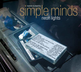 Simple Minds Neon Lights LP - Transparant Vinyl-
