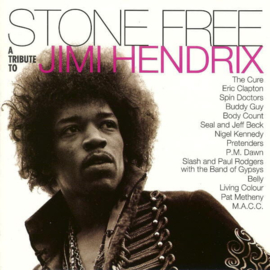 Jimi Hendrix Stone Free 2LP -Clear & Black Vinyl-