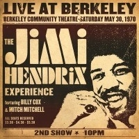 Jimi Hendrix Live At Berkeley 2LP
