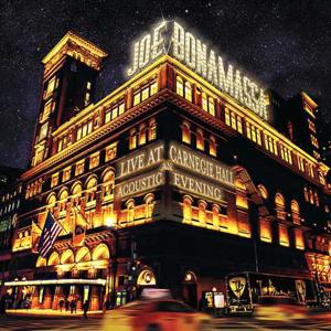 Joe Bonamassa Live at Carnegie Hall: An Acoustic Evening 180g 3LP - Gold Vinyl-