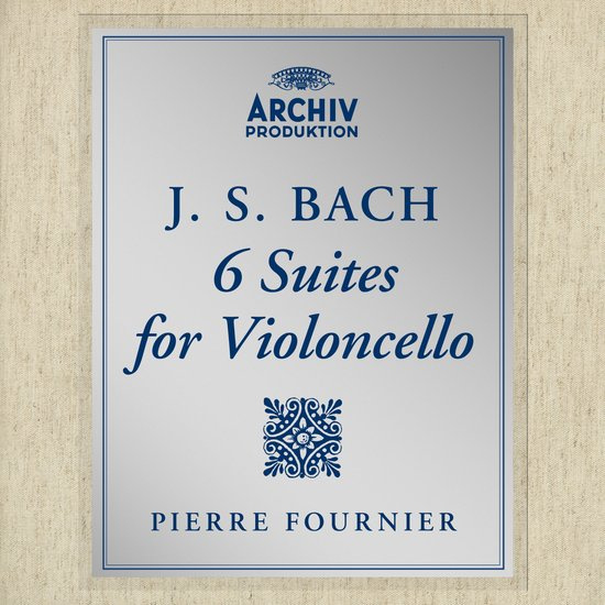 Bach: 6 Cello Suites Ltd.Ed.) 3LP