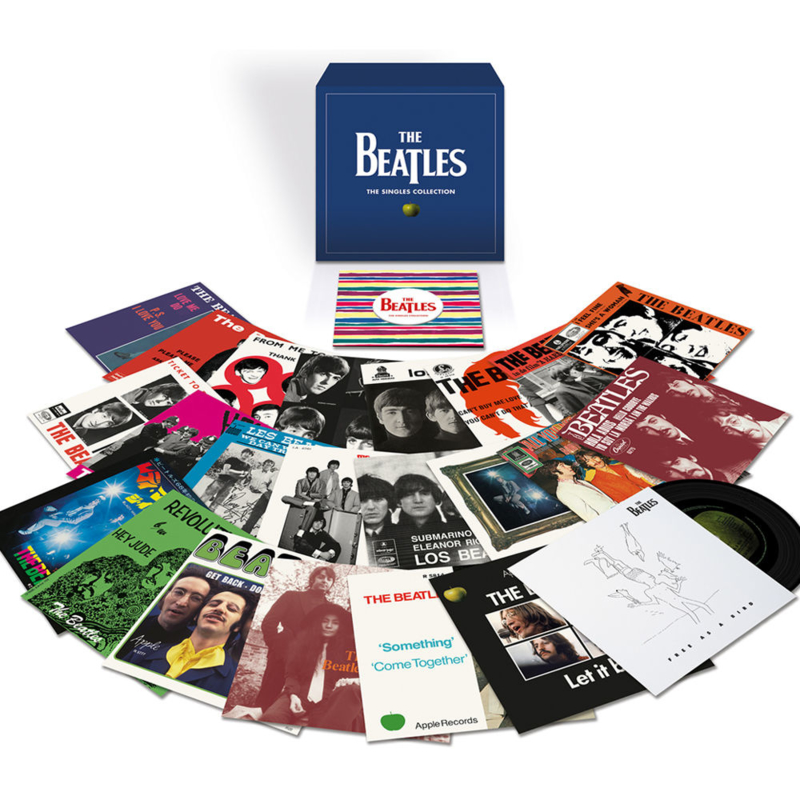 The Beatles Singles Collection 23 x 7'