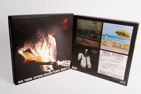 Neil Young - Official Release 5-8 4LP Box