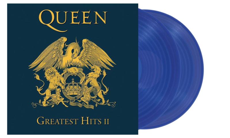 Queen Greatest Hits II Half-Speed Mastered 180g 2LP - Blue Vinyl-