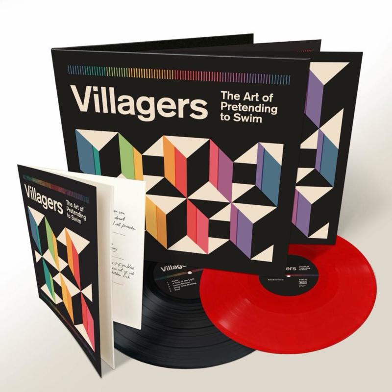 Villagers The Art Of Pretend To Swim 2LP - Red Vinyl-