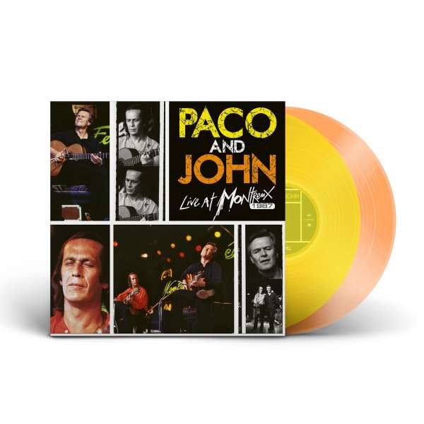 Paco De Lucia & John McLaughlin Paco And John Live At Montreux 1987 2LP - Yellow Orange Vinyl-