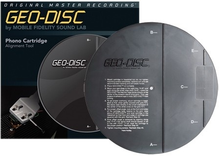 Mobile Fidelity Geo Disc Cartridge Aligment Disc