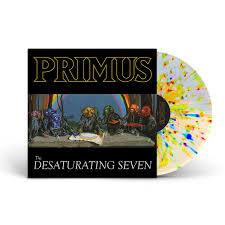 Primus The Desaturating Seven LP -Spatter Vinyl-