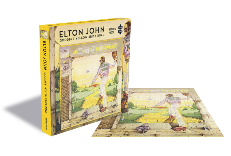 Elton John Goodbye Yellow Brick Road Puzzel
