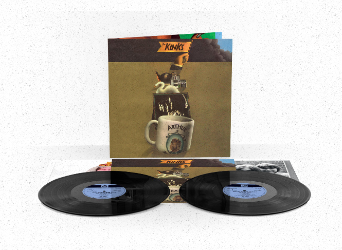 The Kinks Arthur Or The Decline And Fall Of The British Empire 2LP