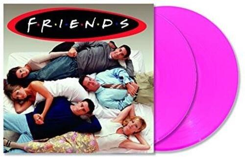 Friends Soundtrack 2LP - Pink Vinyl-