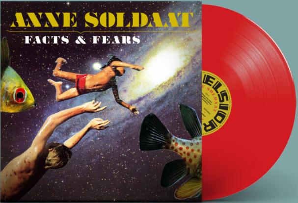 Anne Soldaat Facts & Fears LP - Red Vinyl-