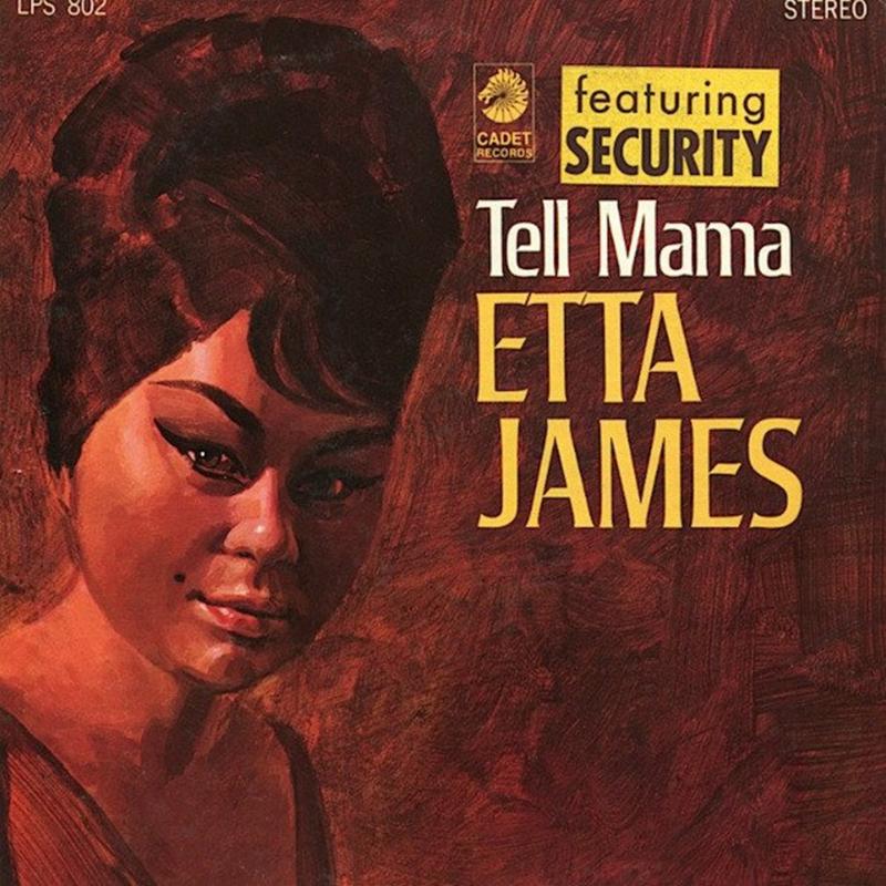 Etta James Tell Mama LP