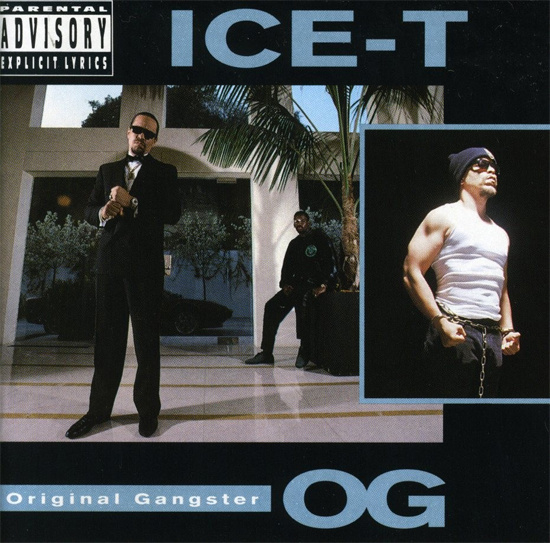 Ice-T O.G. Orginal Gangster LP