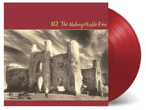 U2 The Unforgettable Fire 180g - Red Vinyl-