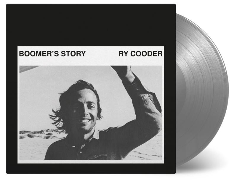 Ry Cooder Boomer Story LP - Silver Vinyl-