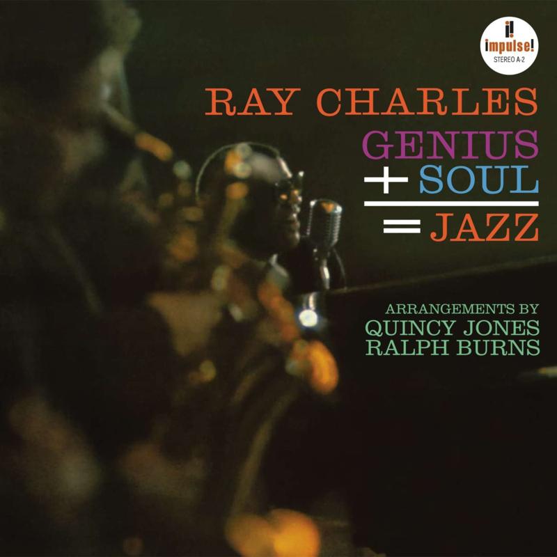 Ray Charles Genius + Soul = Jazz 180g LP