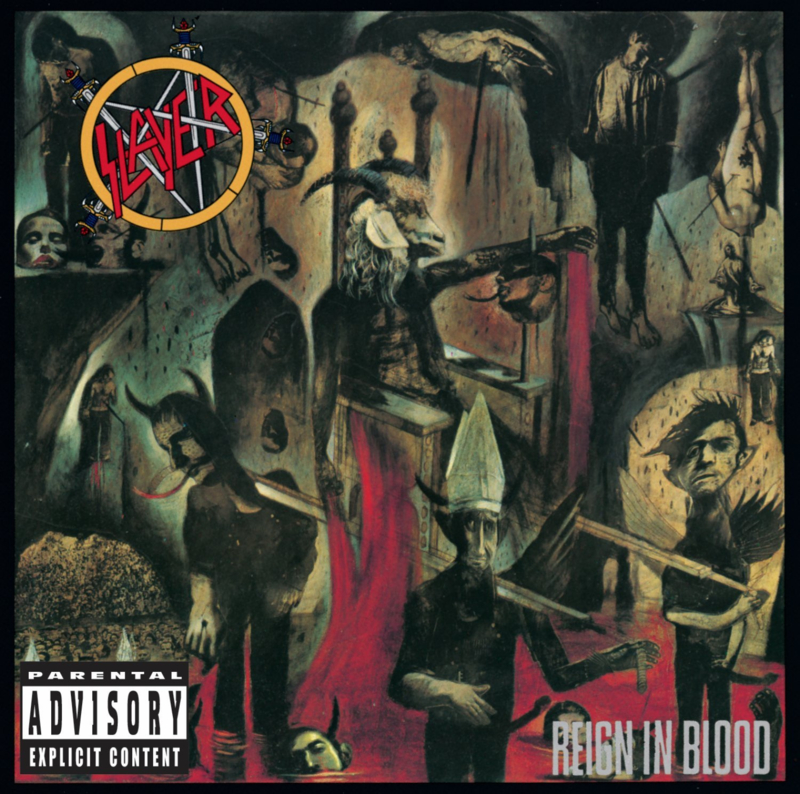 Slayer Reign In Blood LP