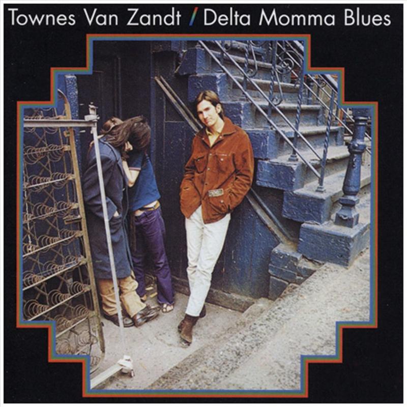 Townes Van Zandt  Delta Momma Blues LP