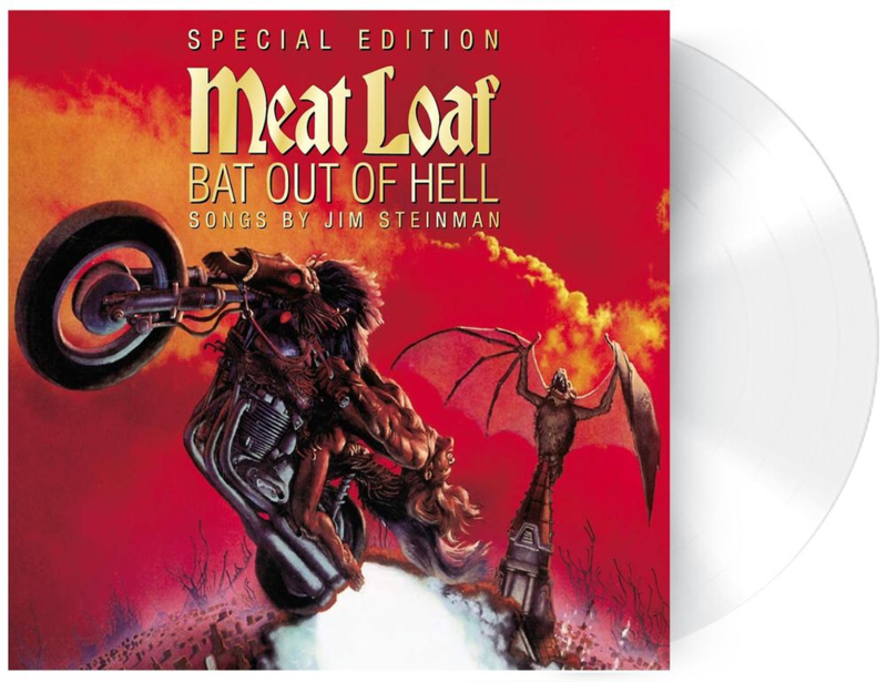 Meat loaf  Bat Out Of Hell LP - Transparant Vinyl-