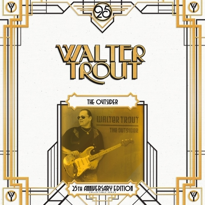 Walter Trout The Outsider 25Th Anniversary Ediition 2LP