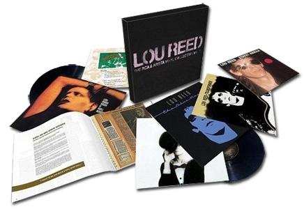 Lou Reed The RCA & Arista Vinyl Collection Vol. 1 150g 6LP Box Set