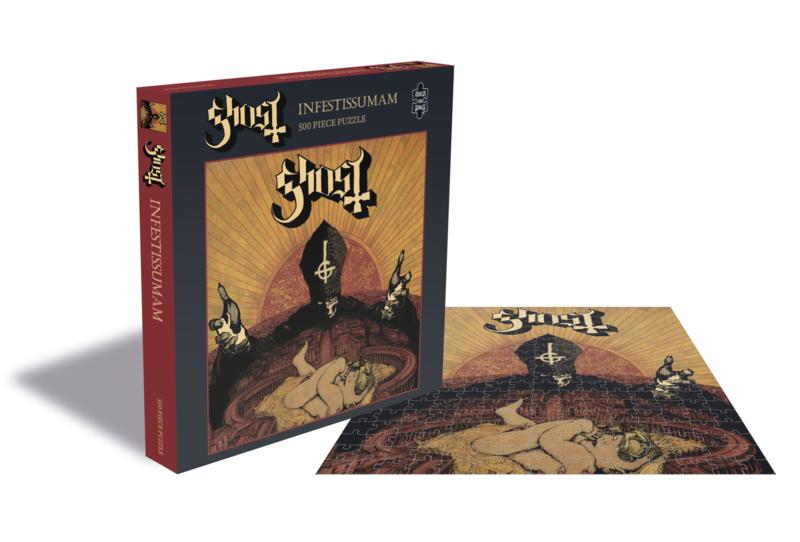 Ghost Infestissumam Puzzel