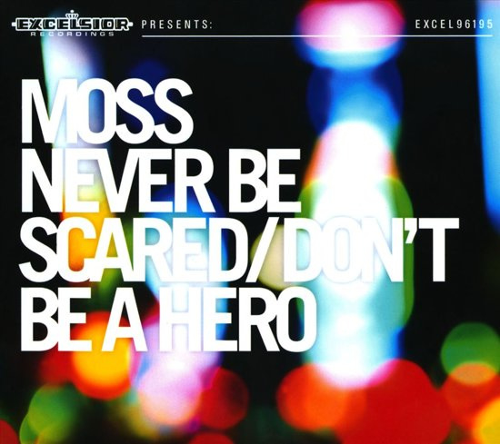 Moss Never be Scared Don't Be a Hero LP - Green Vinyl -