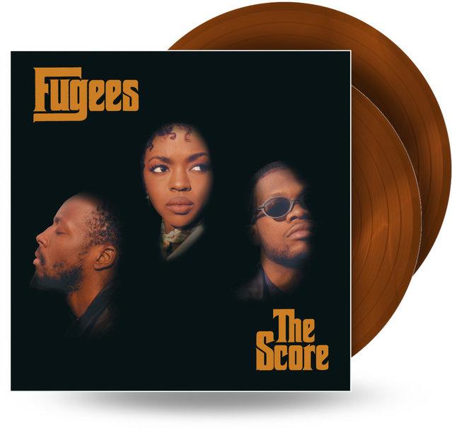 Fugees The Score 2LP - Orange Gold Vinyl-