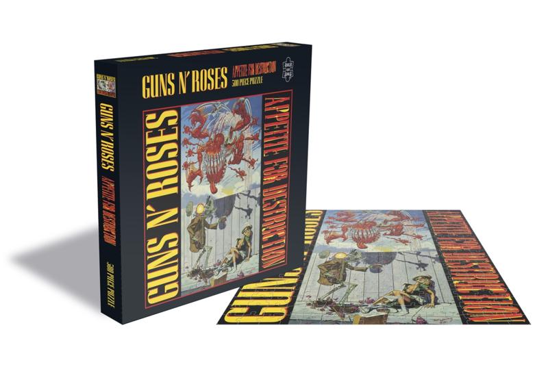 Guns 'N Roses Appetite For Destruction 1 Puzzel