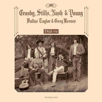 Crosby, Stills, Nash & Young Deja Vu Alternates LP