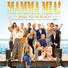 Mamma Mia! Here We Go Again Soundtrack CD