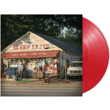 The Sleep Eazys Easy To Buy Hard To Sell  LP - Red Vinyl