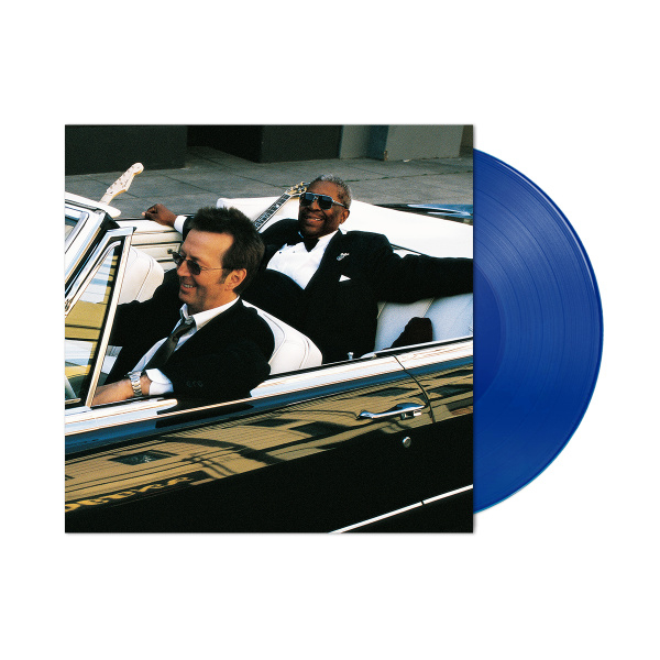 B.B. King & Eric Clapton Riding With The King 20th Anniversary Expanded Edition 180g 2LP -  Blue Vinyl-