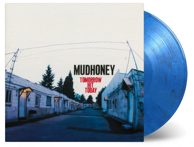 Mudhoney Tomorrow Hit Today LP - Blue Black & White Vinyl-