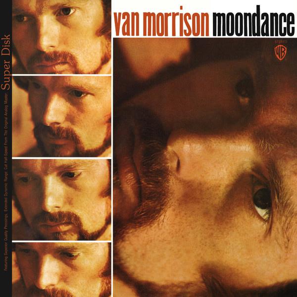 Van Morrison Moondance LP - Orange Vinyl -