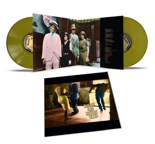 Bob Dylan Rough And Rowdy Ways 2LP - Olive Green Vinyl-