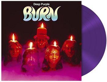 Deep Purple Burn LP - Purple Vinyl-