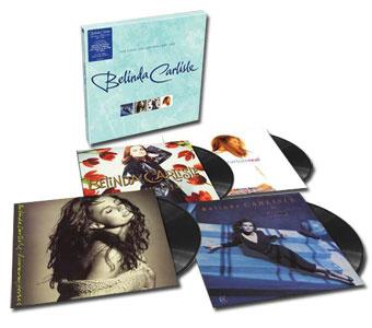 Belinda Carlisle The Vinyl Collection 1987-1993 180g 4LP Box Set