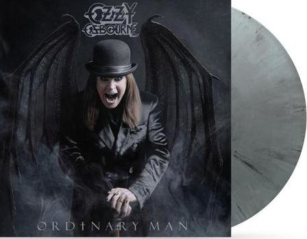 Ozzy Osbourne Ordinary Man LP - Silver Smoke Vinyl-