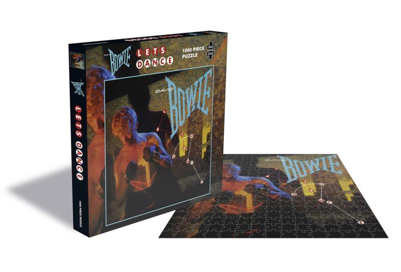 David Bowie Lets Dance Puzzel