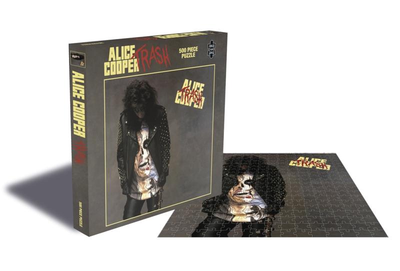 Alice Cooper Trash Puzzel